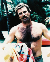 This is an image of 26694 Tom Selleck Photograph & Poster
