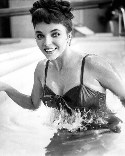 This is an image of 100105 Joan Collins Photograph & Poster