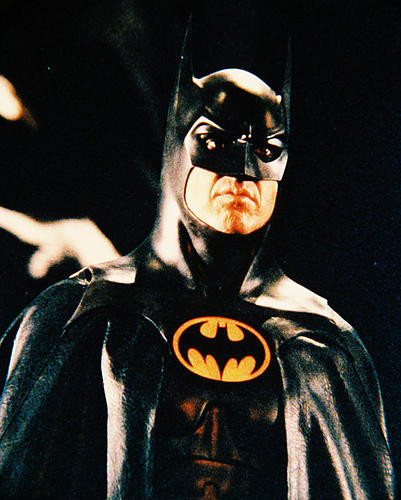 This is an image of 28312 Michael Keaton Photograph & Poster