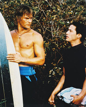 This is an image of 28626 Keanu Reeves & Patrick Swayze Photograph & Poster