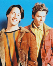 This is an image of 28891 River Phoenix & Keanu Reeves Photograph & Poster