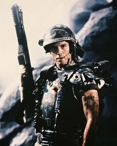 This is an image of 29638 Michael Biehn Photograph & Poster