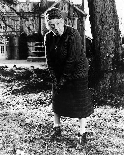 This is an image of 100070 Margaret Rutherford Photograph & Poster