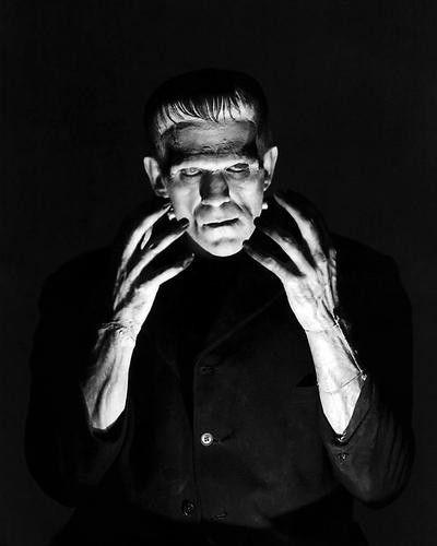 This is an image of 100087 Boris Karloff Photograph & Poster