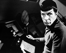 This is an image of 100127 Leonard Nimoy Photograph & Poster