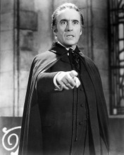 This is an image of 100228 Christopher Lee Photograph & Poster