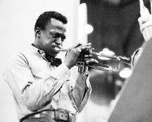 This is an image of 100280 Miles Davis Photograph & Poster