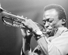 This is an image of 100282 Miles Davis Photograph & Poster