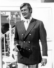This is an image of 100499 Roger Moore Photograph & Poster