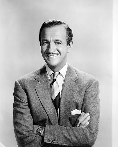 This is an image of 100514 David Niven Photograph & Poster