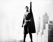 This is an image of 100546 Superman Photograph & Poster