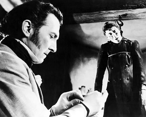 This is an image of Photograph & Poster of Curse of Frankenstein 100731