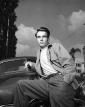 This is an image of Premium Photograph & Poster of Montgomery Clift 101066