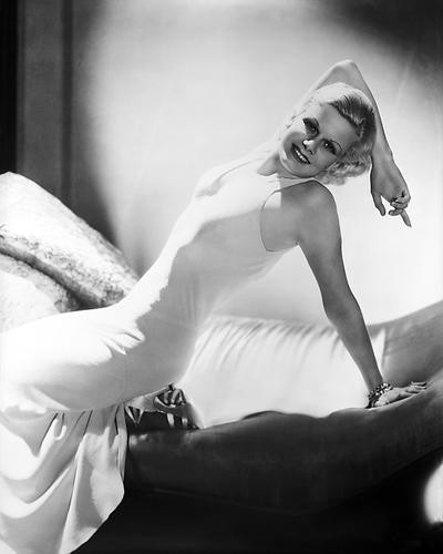 This is an image of Photograph & Poster of Jean Harlow 101186