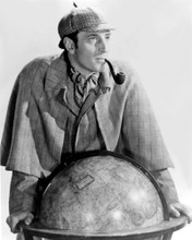 This is an image of Photograph & Poster of Basil Rathbone 101349