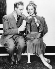 This is an image of Photograph & Poster of Jeanette Macdonald and Nelson Edd 101844