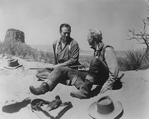 This is an image of Photograph & Poster of The Searchers 102563