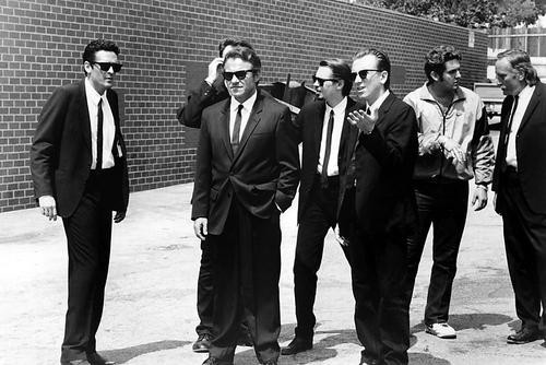This is an image of 100387 Reservoir Dogs Photograph & Poster