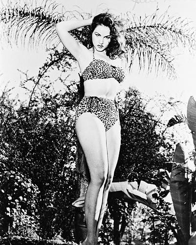 This is an image of 160110 Julie Newmar Photograph & Poster