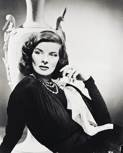 This is an image of 160730 Katharine Hepburn Photograph & Poster