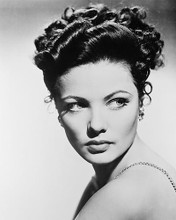 This is an image of 160807 Gene Tierney Photograph & Poster