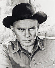 This is an image of 161007 Yul Brynner Photograph & Poster