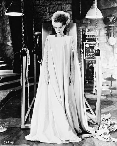 This is an image of 161239 Elsa Lanchester Photograph & Poster