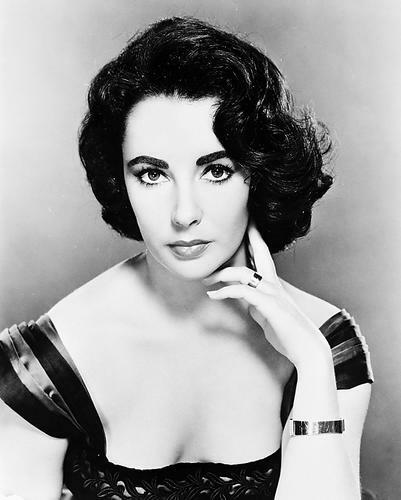 This is an image of 161299 Elizabeth Taylor Photograph & Poster