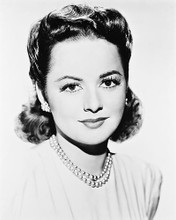 This is an image of 161349 Olivia De Havilland Photograph & Poster