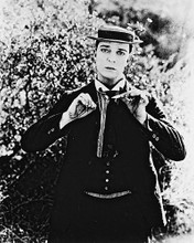 This is an image of 162266 Buster Keaton Photograph & Poster