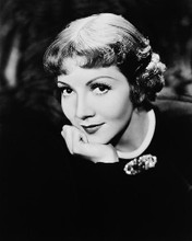 This is an image of 162401 Claudette Colbert Photograph & Poster