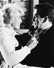 This is an image of 162413 Rock Hudson & Doris Day Photograph & Poster