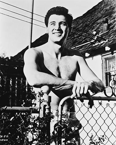 This is an image of 162835 Rock Hudson Photograph & Poster