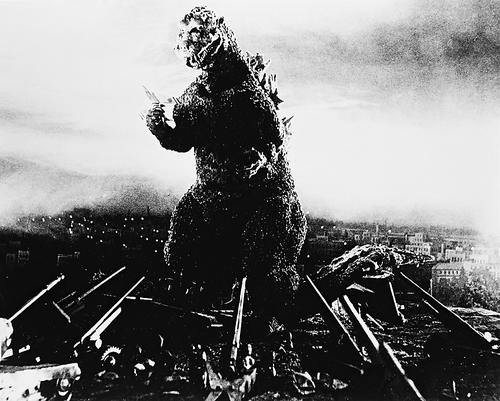 This is an image of 163170 Godzilla Photograph & Poster