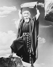 This is an image of 163605 Charlton Heston Photograph & Poster