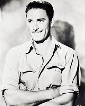 This is an image of 163817 Errol Flynn Photograph & Poster