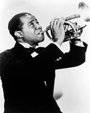This is an image of 164197 Louis Armstrong Photograph & Poster