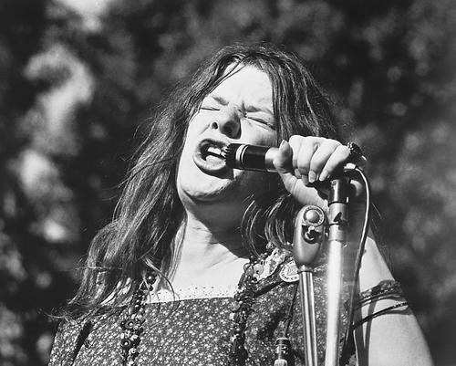 This is an image of 164381 Janis Joplin Photograph & Poster