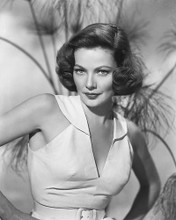 This is an image of 164686 Gene Tierney Photograph & Poster