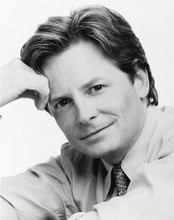 This is an image of 164896 Michael J.Fox Photograph & Poster