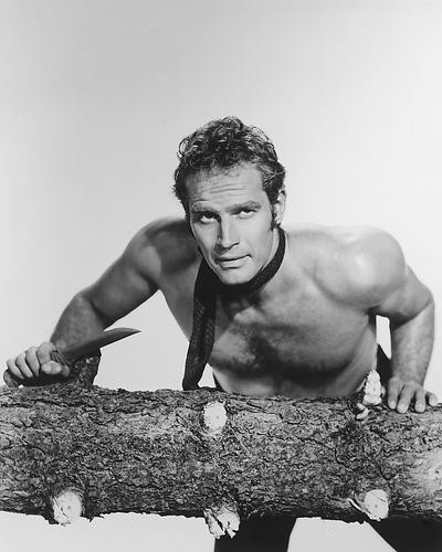 This is an image of 165212 Charlton Heston Photograph & Poster