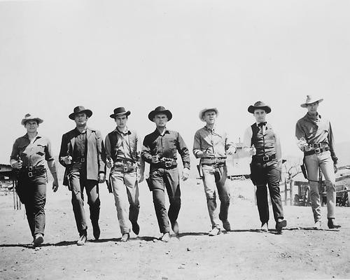 This is an image of 165230 The Magnificent Seven Photograph & Poster