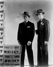 This is an image of 165477 Humphrey Bogart & James Cagney Photograph & Poster