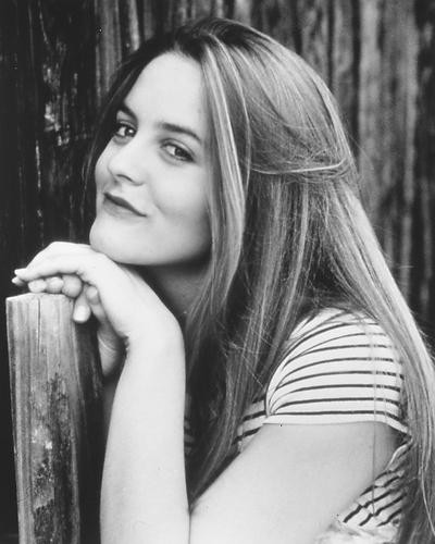 This is an image of 165558 Alicia Silverstone Photograph & Poster