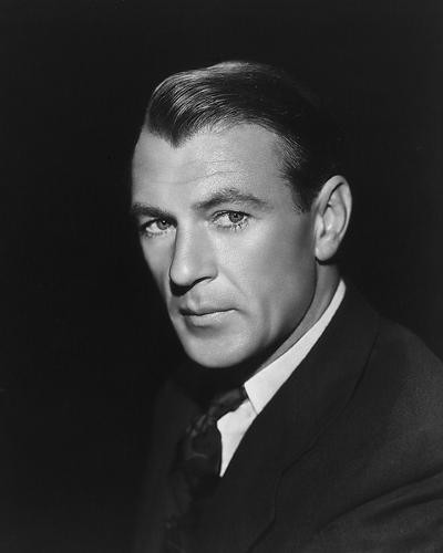 This is an image of 165589 Gary Cooper Photograph & Poster