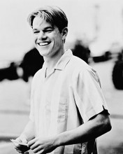This is an image of 166987 Matt Damon Photograph & Poster