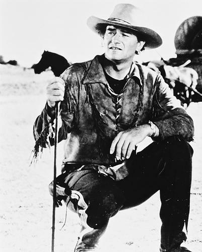 This is an image of 167167 John Wayne Photograph & Poster