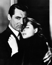 This is an image of 167207 Cary Grant & Ingrid Bergman Photograph & Poster