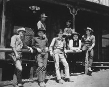 This is an image of 167328 The Magnificent Seven Photograph & Poster