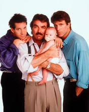 This is an image of 266216 Three Men and a Baby Photograph & Poster